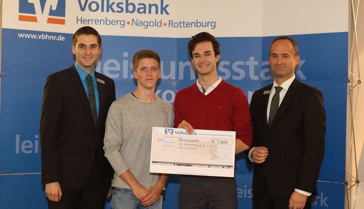 SpendenAdvent 2016 der Volksbank Herrenberg-Nagold-Rottenburg-Stiftung